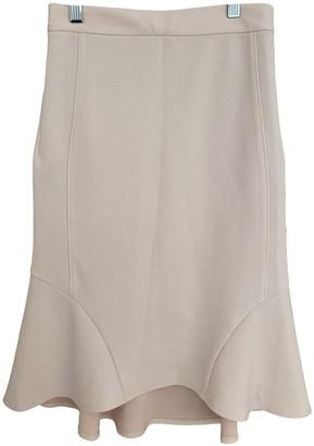Ronny Kobo Pink Cotton Skirts