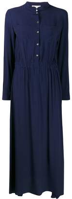 Semi-Couture Semicouture scalloped neck shirt dress