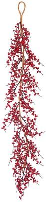 Vickerman Red 60-inch Outdoor Wild Berry Garland