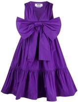 MSGM bow-front parachute dress