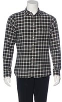 Rag & Bone Plaid Button-Up Shirt