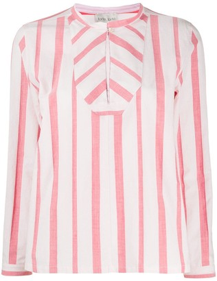 Forte Forte Loose Fit Striped Blouse