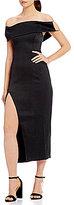 Style Stalker STYLESTALKER Lana Off-the-Shoulder Midi Dress