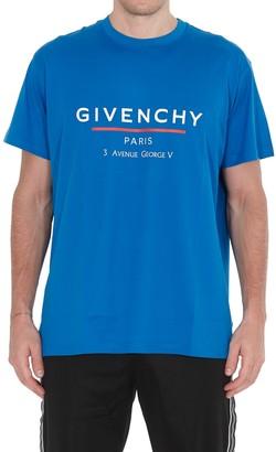 Givenchy Label Logo T-shirt