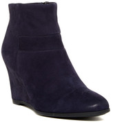 Geox Ultraviolet Suede Wedge Boot