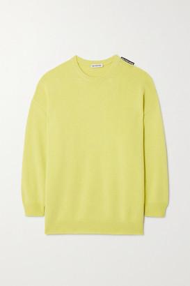 Balenciaga Cashmere Sweater - Green