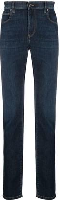 Ermenegildo Zegna Slim-Fit Mid-Rise Jeans