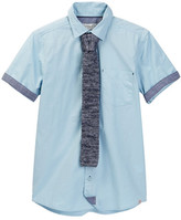 Sovereign Code Shirt & Tie 2-Piece Set (Big Boys)