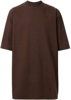 Rick Owens oversized crew neck T-shirt