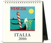 Cavallini & Co. CAL16-5 2016 Italia Desk Calendar