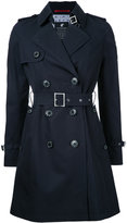 Loveless - belted trench coat - women - Cotton - 34