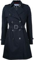 Loveless - belted trench coat - women - Cotton - 36