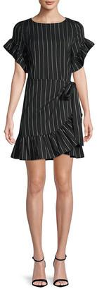 Supply & Demand Supply + Demand Striped Ruffled Dress