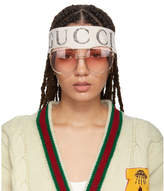 Gucci White Teban Vintage Headband