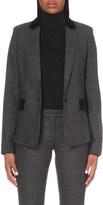 Joseph Check-pattern wool jacket