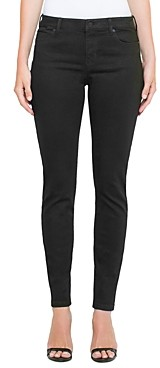 Liverpool Los Angeles Abby Skinny Jeans in Black Rinse