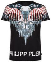 Philipp Plein Eagle Printed T-shirt