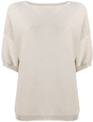 Fabiana Filippi Short-Sleeved Knitted Top