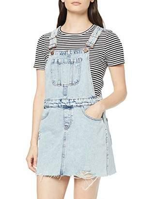 New Look Petite Women's Acid Dungaree Dress,(Manufacturer Size:)