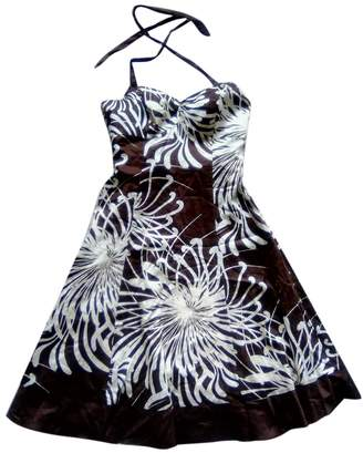 John Rocha Brown Cotton Dress for Women
