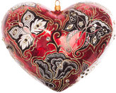 Jay Strongwater Austrian Artisan Heart Tree Decoration - Siam