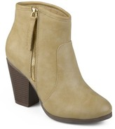 Brinley Co. Women's Ankle Faux Leather High Heel Booties