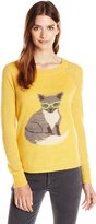 Woolrich Women's Motif Mohair Wool Sweater