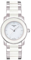 Tissot Ladies Cera White Quartz Trend Watch with Diamonds