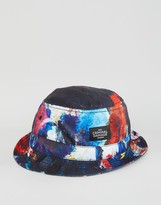 Criminal Damage Bucket Hat Abstract