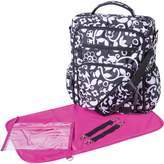 Trend Lab French Bull Vine Convertible Backpack Diaper Bag