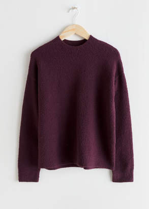 And other stories Cotton Blend Sweater