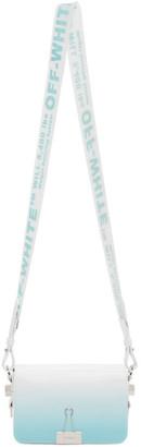 Off-White Blue Gradient Flap Bag