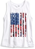 GUESS Tie-Back Flag Tank (2-6x)