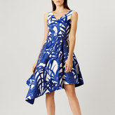 Coast Palm Jacquard Dress