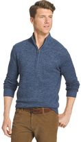 Izod Men's Classic-Fit Marled Quarter-Zip Sweater