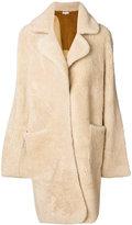 Natasha Zinko oversize Intarsia reversible coat