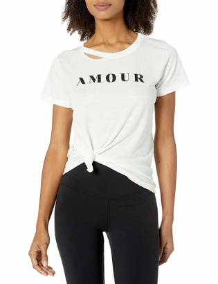n:philanthropy Women's Harlow Amour Cut Out Tee