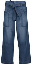 Current/Elliott The Trapunto Cropped Boyfriend Jeans