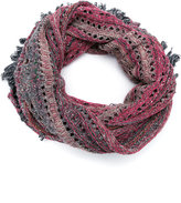 Cecilia Prado knit scarf - women - Cotton/Acrylic/Lurex - One Size