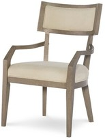 Rachael Ray Highline by Home Arm Chair in Greige (Set of 2 Home