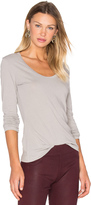 James Perse Extra Long Sleeve Tee