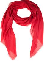 Jil Sander Crimson Red Fine Cashmere Scarf