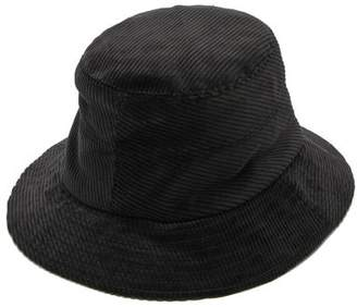 Margaret Howell Cotton-corduroy Fedora Hat - Mens - Black
