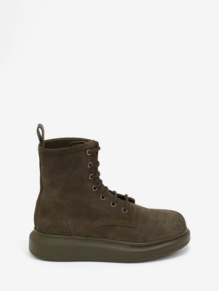Alexander McQueen Hybrid Lace-Up Boot