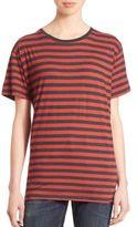 R 13 Boy Striped Cotton Tee