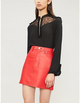 Pinko Affettatrice silk blouse