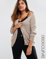 Asos Cardigan In Cashmere Mix