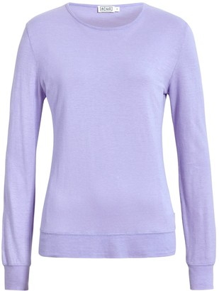 Má Hemp Wear Mira Long Sleeve Top - Lilac