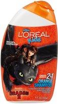 L'Oreal Kid's 2-in-1 Shampoo - Orange - 9 oz