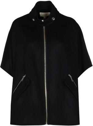MICHAEL Michael Kors Black Wool Blend Jacket